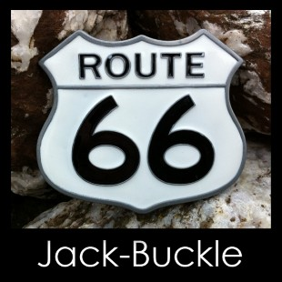 Buckle Route 66 Am.Dream Biker Gürtelschnalle