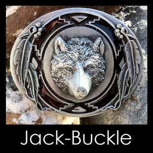 Buckle Wolf 3D Trapper-Country-Western-G�rtelschnalle