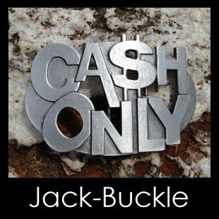 Buckle CASH - ONLY - G�rtelschnalle