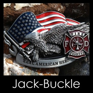 Buckle Fire Fighter-FD- Gürtelschnalle