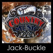 Buckle I Love Country Musik G�rtelschnalle