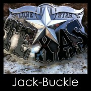 Buckle Lone Star Texas Western Rodeo G�rtelschnalle
