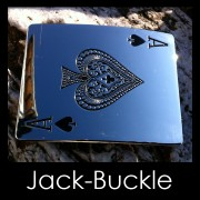 Buckle PIK - AS Spieler Poker G�rtelschnalle