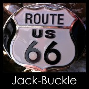 Buckle Route 66 US American Dream Biker G�rtelschnalle