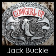 Buckle COWGIRL UP Western Country G�rtelschnalle