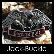 Buckle BORN TO RIDE -Harley G�rtelschnalle
