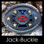 Buckle Confederate States of America Schnalle