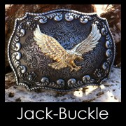 Buckle Flying Eagle Rodeo Double G�rtelschmale