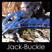 Buckle Guess Fashion Mode G�rtelschnalle